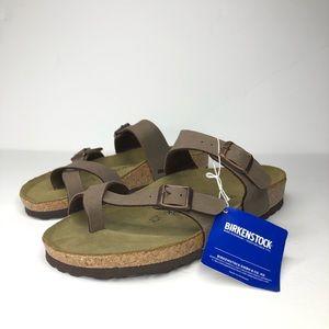 Birkenstock Mayari mocha sandals